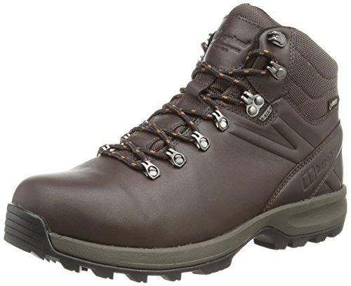 Berghaus Explorer Ridge Plus Gtx - Zapatos trekking y senderismo para hombre Marrón (Brown/Leather Brown V32)