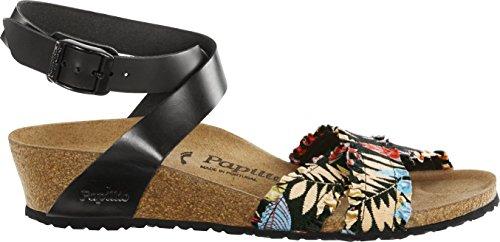 Sandales pour BLACK FRILL FLOWER femme Papillio qOwP0q