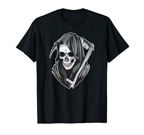 Skull-Santa-Muerte Halloween costume T Shirt Gifts Tee Shirt -