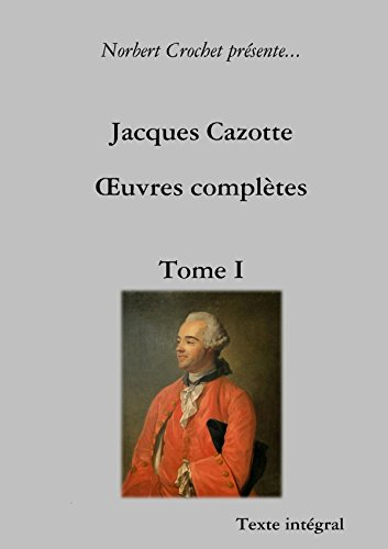 Jacques Cazotte - (French Edition) pdf