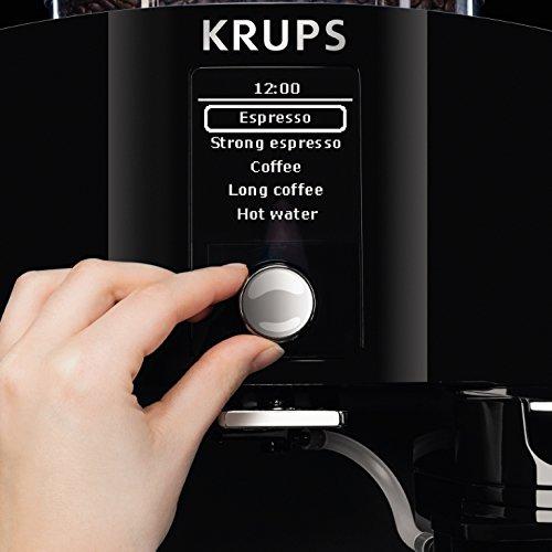 krups compact automatic espresso machine