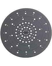 Wenko 53011100 Afvoerzeef siliconen grijs - gootsteenzeef, siliconen, 12 x 0,3 x 12 cm, grijs