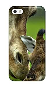 ImlfJDE778VpAlD Case Cover Giraffes Loving Mother African Animals Iphone 5/5s Protective Case