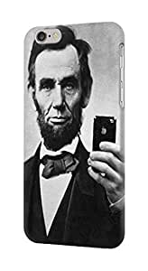 LJF phone case S0041 Abraham Lincoln Case Cover for IPHONE 5C