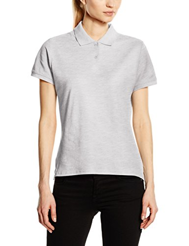 Fruit of the Loom, Polo para Mujer Gris (Heather Grey)