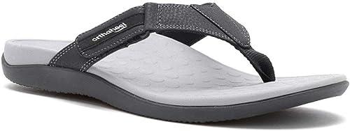 ORTHAHEEL Vionic Paire avec Technologie Sandales pour Homme