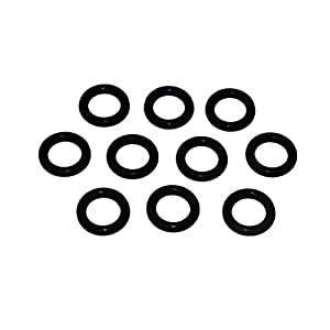 """Captain O-Ring - Power Pressure Washer O-Rings for 1/4"""" Quick Coupler, EPDM (10 pack)"""
