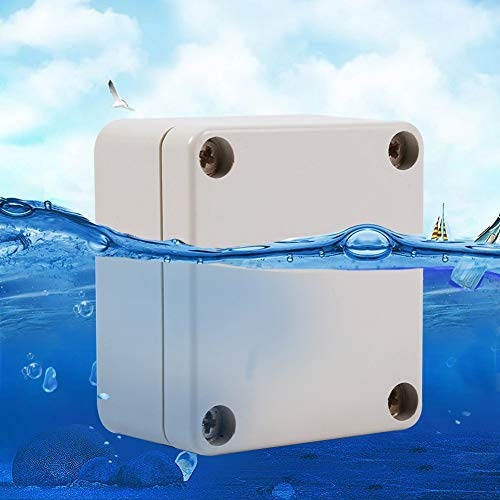 1PC ABS Waterproof Junction Box, Good Sealing Performance, Long Service Time, 2 Sizes for Your Choice(656035mm) by Mugast (Image #1)