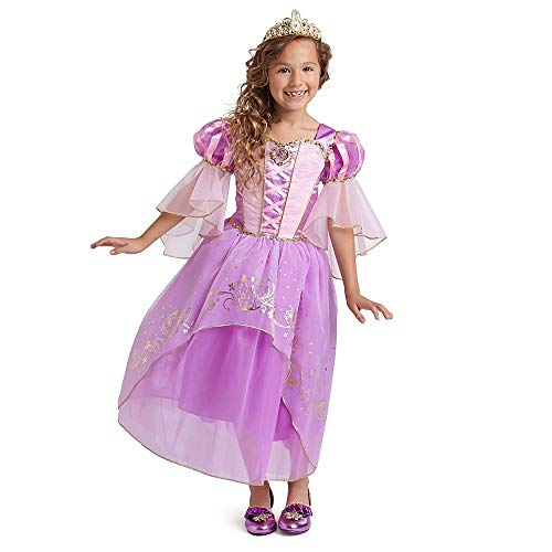 Disney Rapunzel Costume for Kids - Tangled Size 7/8 Multi