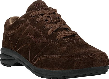 Propet Womens Washable Walker Shoe (Propet Women's W3841 Sneaker,Brownie,8.5 M)