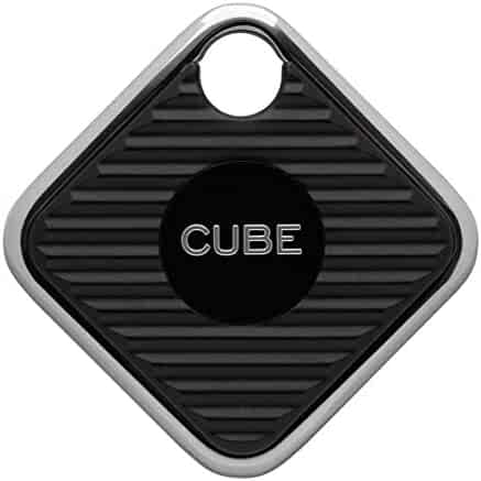 Cube Pro Key Finder Tracker 2X Volume and Range Replaceable Battery Phone Locator