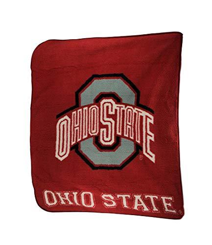 The Northwest Company Ohio State Buckeyes Super Soft Sherpa Style Throw Blanket