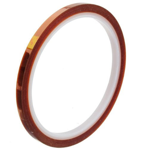 5mm High Temperature Heat Resistant Kapton Tape Polyimide