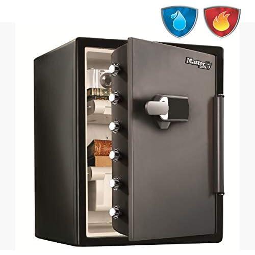 chollos oferta descuentos barato Master Lock Caja Fuerte de Seguridad Ignifuga y Resistente al Agua Combinación Digital Sistema de Alarma XX large LFW205TWC