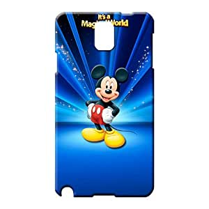samsung note 3 Durability Special phone Hard Cases With Fashion Design phone cover case disney mickey mouse world