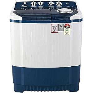 LG 7.5 Kg 5 Star Semi-Automatic Top Loading Washing Machine (P7535SBMZ, Dark Blue)
