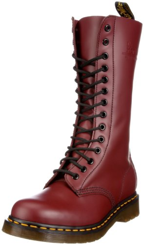 mixte Martens Cherry adulte Boots 1914 Rouge Dr Red nOPxvx