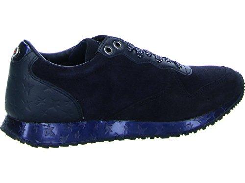 Tommy Hilfiger Damen S1285evilla 2c1 Sneaker Blau (middernacht)