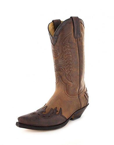 Sendra Boots2560 - Botas De Vaquero Unisex adulto Marrón - Chocolate Tang