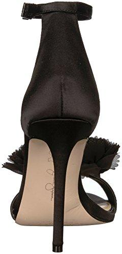 Women's Black Sandal Heeled Jeena Simpson Jessica pSHOwqAx