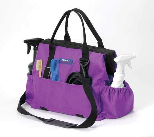Tough 1 600 Denier Poly Grooming Tote Purple