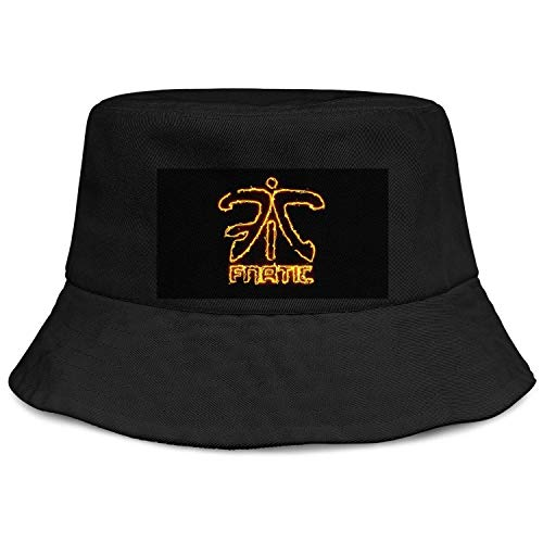 HTLYT Fnatic-csgo-Logo Unisex Bucket Hats Relaxed Camping Caps