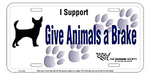 Humane Society of the United States License Plate
