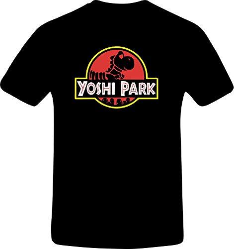 Yoshi Park, Best Quality Custom Tshirt (M, BLACK)