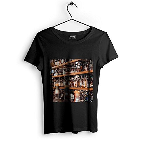 Westlake Art - Bar Beverage - Unisex Tshirt - Picture Photography Artwork Shirt - Black Adult Medium (6AFBF) (Malt Single Cask)