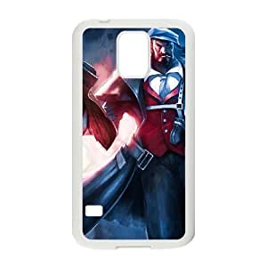 Samsung Galaxy S5 Cell Phone Case White League of Legends Graves 005 YD531605