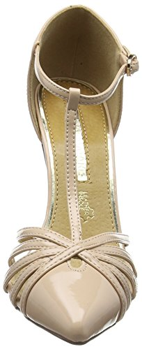 Donna Mm nude sandali 66082 Beige Ywz4E