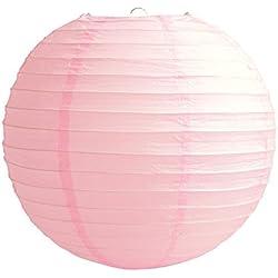 "4"" 6"" 8"" 10"" 12"" 14"" 16"" 18 Round Paper Lanterns Lamp Wedding Birthday Party Decoration (Baby Pink, 14""/35CM)"