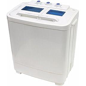 Generic O-8-O-1516-O Laundr Washing Spin Dryer pin Dry Compact 8 - 9LB B Washi Portable MINI mpact 8 Laundry RV Dorm er Mach Washer Machines HX-US5-16Mar28-161
