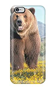Pretty MzPXMMr14788GZnps Iphone 6 Plus Case Cover/ Grizzly Bears Series High Quality Case