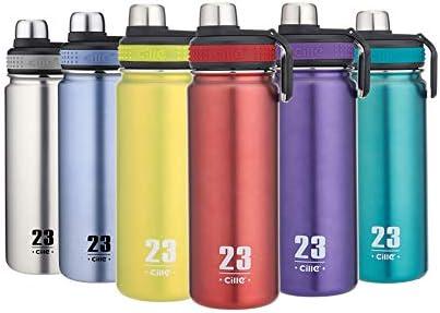 CILLE Water Bottle 24oz Hot Water Bottle Stainl...