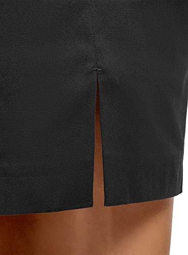 Ultra Cotone In Donna Con Cintura Gonna 2900n Oodji Nero fqwZCBRC