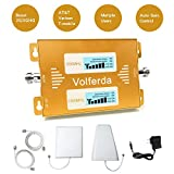 Volferda Cell Phone Signal Booster for Verizon, T-Mobile, AT&T 2G 3G 4G LTE, U.S.Cellular 2G 4G Amplifier for Home & Office Band2 Band 5 Dual Band Signal Repeater Kits