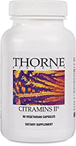 Thorne Research - Citramins II without Copper and Iron - 90 Capsules