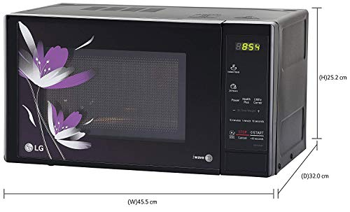 LG 20 L Solo Microwave Oven (Black, with Free Starter Kit)
