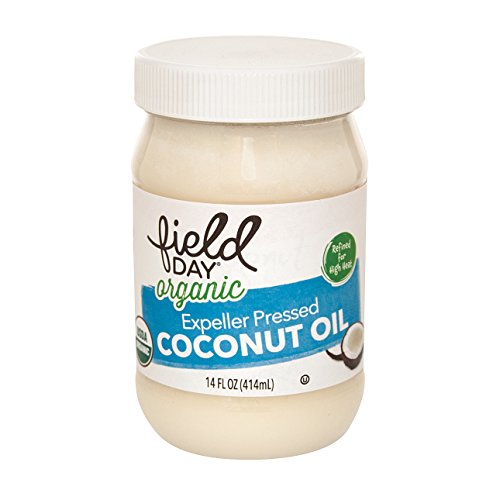 Field Day Organic Expeller Pressed Coconut Oil Coconut Oil , 6 Count