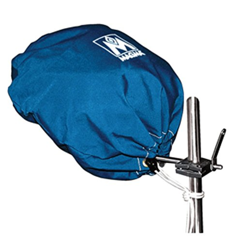 Magma Marine Kettle Grill Cover - Blue Magma Grill Cover For Kettle Grill Marine RV Boating Accessories