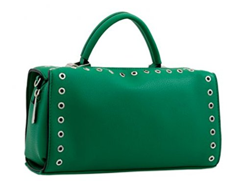 LeahWard Women's Quality Fashion Tote Bags Holiday Shoulder Handbags Green