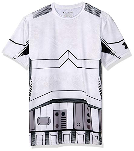 (Under Armour Trooper Full Suit Compression T-Shirt - Large - White)