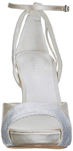 Ankle Off Women's 04 White Strap Off Patricia White Pumps Menbur q74fTB4