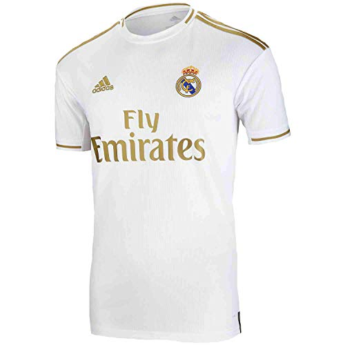 adidas Real Madrid Home Jersey 2019-2020 (Large) White