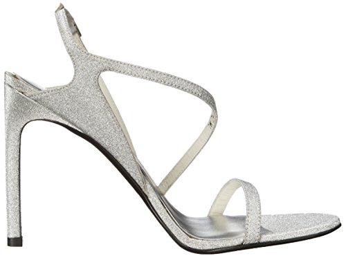Stuart Weitzman Mujer Sensual Vestido Sandalia Aregnto Glitterati