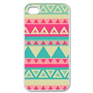 Aztec Tribal Pattern Unique Fashion Printing Phone Case for Iphone 4,4S,personalized cover case ygtg537428