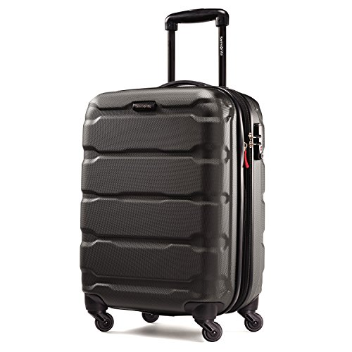 Samsonite Omni PC Hardside 20-Inch One Size Spinner - Black (Case Luggage Hardside)
