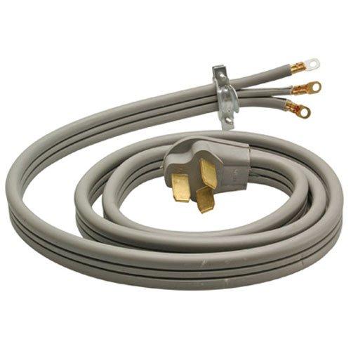 Master Electrician 09014ME 6/2 8/1 SRDT 50-Amp Range Appliance Power Supply Cord 4 Feet, Grey