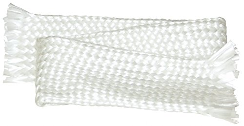 Dixon 102-LW48200 Braided Texturized Sleeving, 100' Length, 3'' Nominal ID, Fiberglass